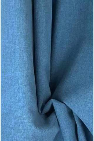 Drape blau - leichter Samtlook