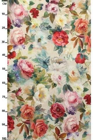 Rosen rot rosa Monet Blumen