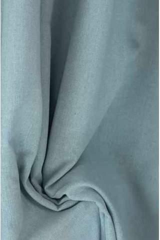 Drape eisblau - hellgrau - leichter Samtlook