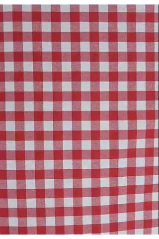 1,5 cm kariert rot weiß
