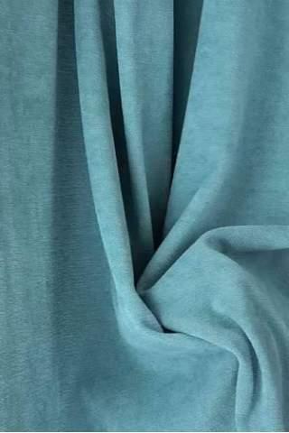 Samt Velours blau grau