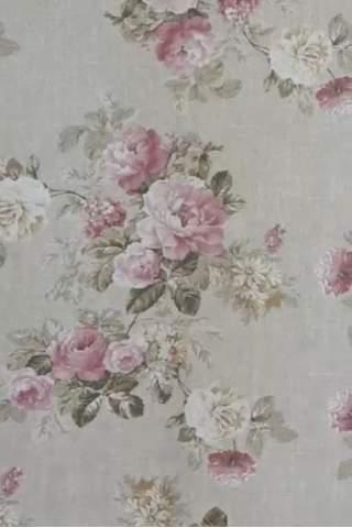 Englische Rosen Leinen