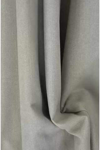 Drape hell beige grau leichter Samtlook
