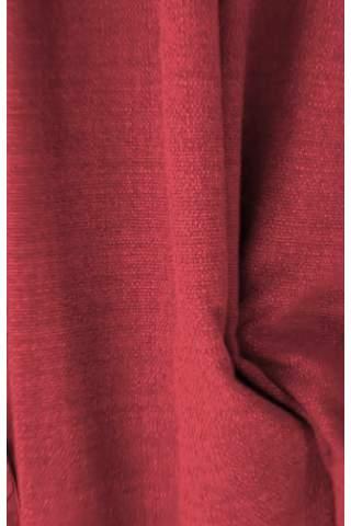 Zenith burgund - Samt leinen look