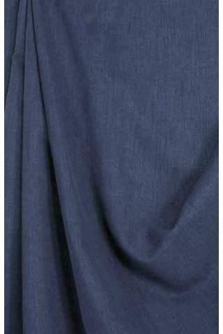 Drape dunkelblau - leichter Samtlook